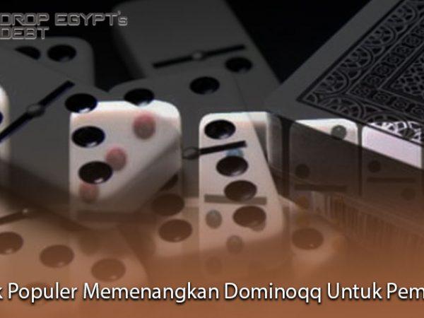 Trik Populer Memenangkan Dominoqq Untuk Pemula